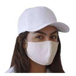 Mascara de Proteção em Sarja Ecológica (100% algodão)