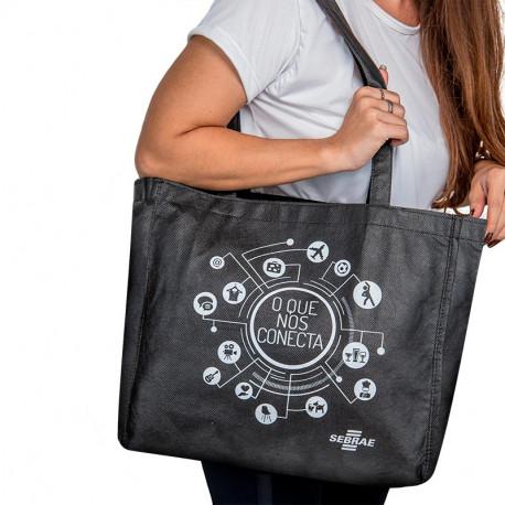 Ecobag com Fundo e Lateral - TNT