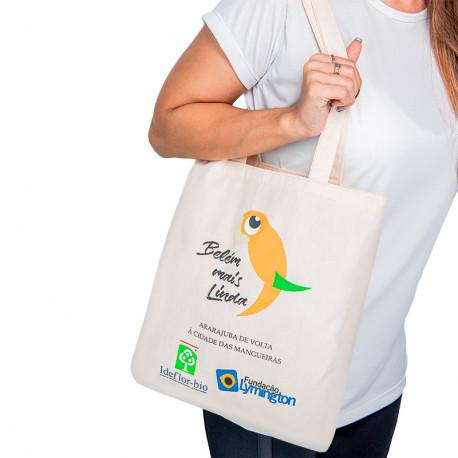 Ecobag Envelope em Sarja Ecológica